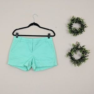 J. Crew | Chino Mint Green 4 in Short 4